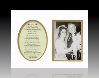 50th Anniversary Personalized Wedding Gifts Anniversary Frame
