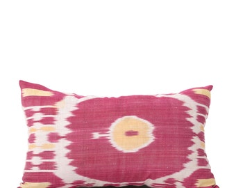 16 x 26 Pillow Cover Ikat Pillow Cover Old Ikat Pillow Cover Throw Pillow Decorative Pillow FAST SHIPMENT with ups or fedex - 09001