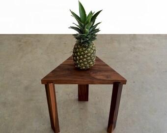 Triangle Hardwood Table