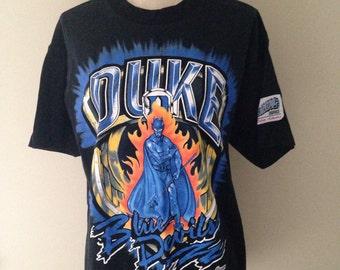 Vintage Duke University Blue Devils Tshirt