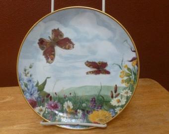 Kaiser W Germany butterfly plate Doris Hofmann