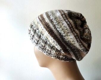 Womens slouchy hat, womens fashion, slouchy beanie, mens slouchy hat, knitting beanie, handmade knitting hat, fall fashion, boho style hat