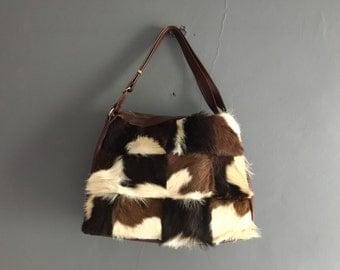60s Pony Skin Shoulder Bag