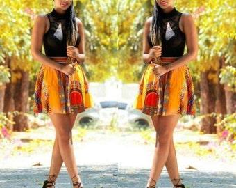 Daishiki Bubble Hem Skirt