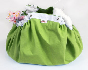 SALE - Reduced from USD25 - Play mat Toy bag - Storage bag - Lego playing mat - Playmat - Green - Ready to ship