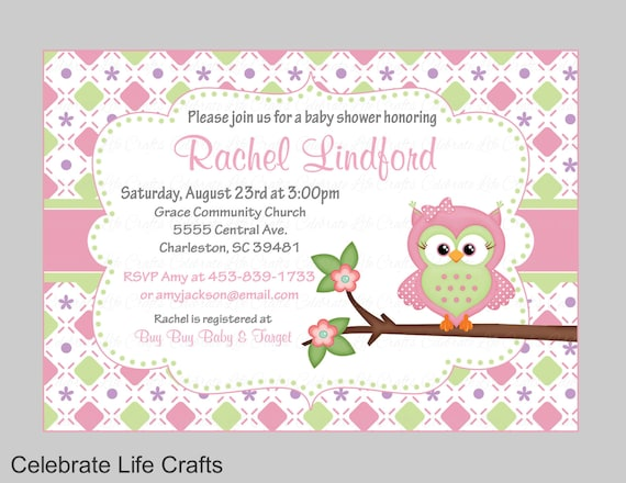 Owl baby shower invitations printable baby girl shower invite il570xn filmwisefo