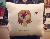 David Bowie Tribute Pillow
