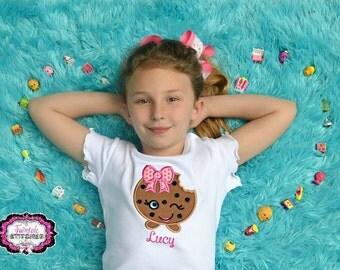 Cookie Shirt, Cookie Birthday, Valentine Shirt, Birthday Shirt, Girl Birthday Shirt