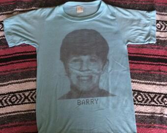 Vintage Super Soft Barry Print Shirt