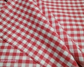 100% LINEN Red and White TABLECLOTH PROVENCE Style European Flax All Sizes