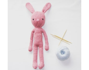 Knitted bunny Lolo