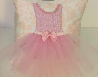 Tutu Dress Pillow , Ballerina Decorative Pillow, Custom Decorative Pillow