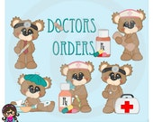 2015 Bubbles Doctors Orders Clip art  Clipart Graphics  Commercial Use