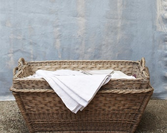 French Laundry Basket (Large)