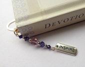 Inspire Bookmark, Teacher Gift, Gift Idea, Inspirational Gift