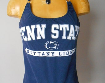 Penn State Nittany Lions halter top DIY College Football Reconstructed