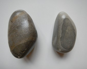 Large Montana River Rock drawer pulls stone cabinet knobs natural eco-friendly  handmade home decor listing #7