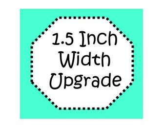 Upgrade! 1.5 Inch Width Collar