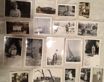 Vintage (18) 1920 - 1940 Vintage Personal Photos