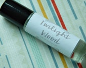 Twilight Wood Perfume Oil - roll on perfume - coconut oil perfume - 10ml glass bottle