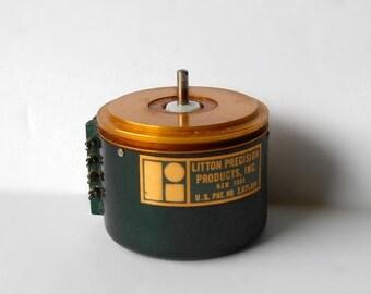 Antique Litton Precision Wirewound 10 Kilo ohm Potentiometer 1948