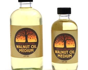 Refined Walnut Oil Medium