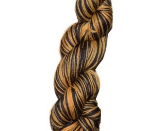 Hufflepuff Self Striping Yarn- Dyed To Order