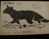 Vintage Fox Target no. 5 by J C Higgins