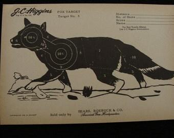 Vintage Fox Target no. 5 by J C Higgins