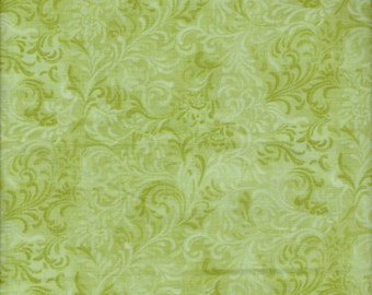 Wilmington Prints, Essentials Fabric Collection, Embellishment in Green