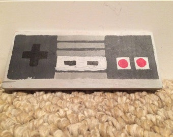 NES Controller Hand Painted