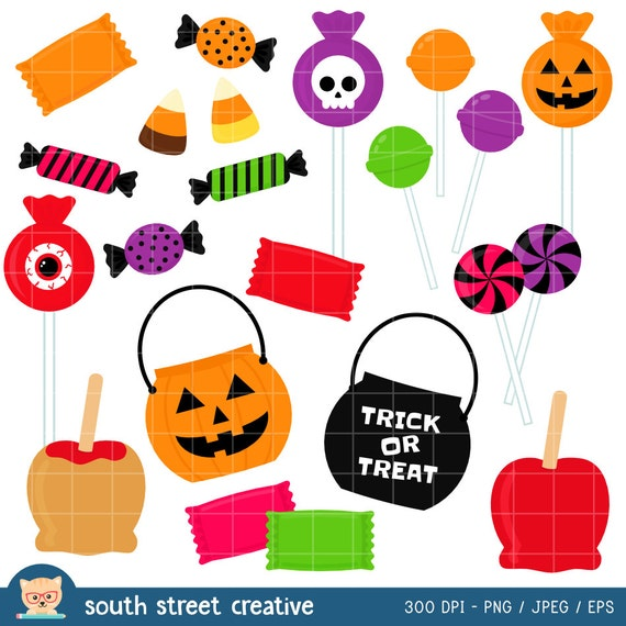 Trick Or Treat Candy Clipart Halloween Candy, Candy...