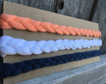 Braided headband set