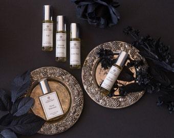 Sylvia Perfume Oil - Fig, Clove, Black Tea, Cedarwood, Cassis