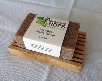 Beery Hoppy handcrafted all-natural vegetable-based soap