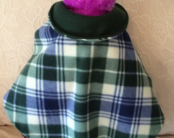 Dog Coat- Personalized with Name - Reversible