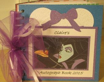 Disney Autograph Book MALEFICENT Album