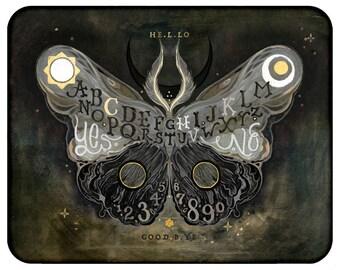 Coey: Ouija Board Moth (Prints, Pencil Bag)