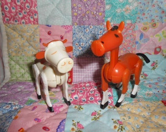 Fisher Price Little People Horse And Cow
