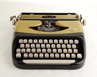 Typewriter, Royal Eldorado, Holland