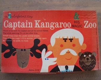 Vintage Captain Kangaroo Colorforms - 1960's
