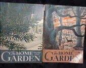 The Home Garden Post World War II 1947 November and December Issues