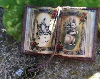 Peter Rabbit Open Book - Dollhouse Miniatures