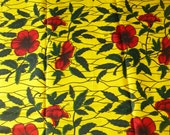 Block Wax Print Cotton African Fabrics for Dressmaking Lapas/Tissues Africain/Vitenge Sold By The Yard 151978928708