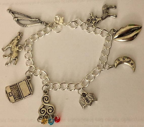 Teen Wolf Charm Bracelet - Teen Wolf Jewelry Stiles Stilinski Derek Hale Allison Argent Lydia Martin Jackson Whittemore Isaac Lahey