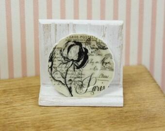Miniature 1/12th Scale  Plate