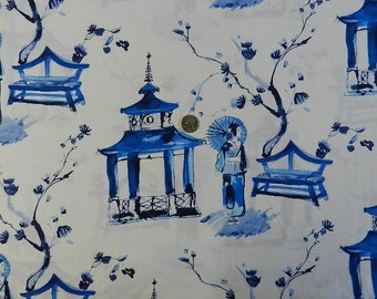 Pagoda Garden by Micheal Miller - Fabric By The Yard