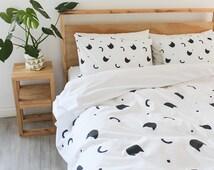 Cat Nap Duvet Cover - Single, Three Quarter, Queen & King 100% Cotton Bed Linen