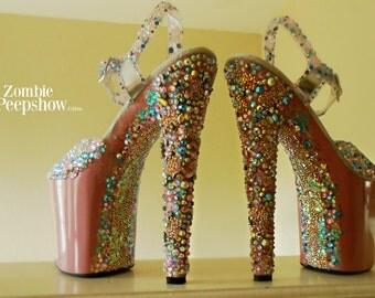 """Barbie """"Crush"""" Crystal Heels"""