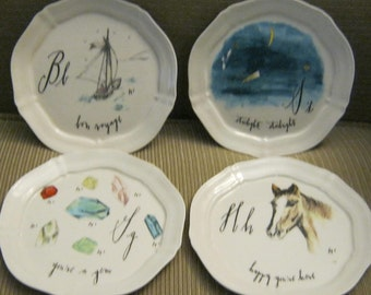 Anthropologie etsy for Linea carta canape plates
